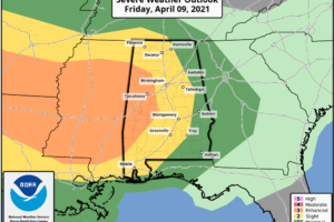 Scattered Storms Tomorrow; Severe Storms Likely Early Saturday