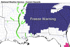 Another Freeze Tonight; Warmer Over The Weekend