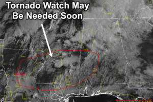 Watch May Be Needed Soon for Areas from Louisiana across Mississippi to Western Alabama