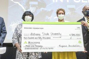 Alabama Newscenter — 'Paid in Full': Regions Foundation, Alabama State Alumni Give ASU Students Major Surprise
