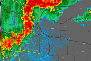 Strong Storms Affecting Portions of Winston, & Marion Counties; Soon to Move Into Fayette County