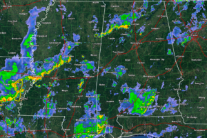A Look at Alabama Weather Situation at 8 p.m.