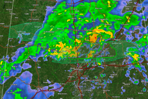 Flash Flood Warning for Parts of Blount, Jefferson, and St. Clair Counties Until 4 am