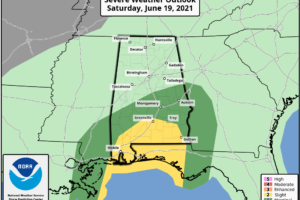 Weather Xtreme: Claudette Forms & Will Affect Central Alabama Today & Early Sunday