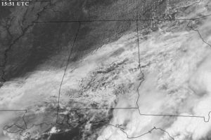 Midday Nowcast: Clearing Sky Through the Afternoon
