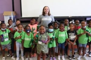 Alabama Newscenter — Claire Cotten Is An Alabama Bright Light Making Sawyerville Shine