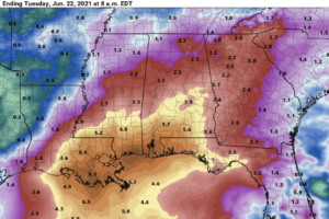 Mostly Dry Weather For Alabama Through Friday; Watching The Gulf