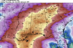 Dry Today; Tropical Rain Over The Weekend