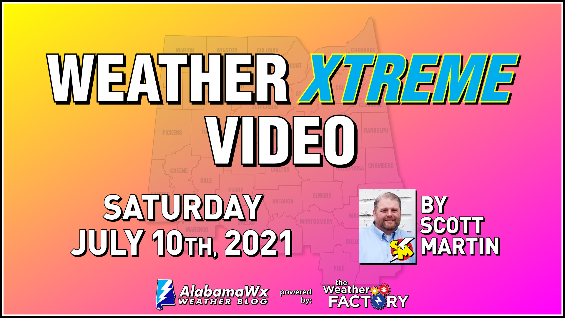 Weather Xtreme: Increased Shower & Storm Chances on Each ...