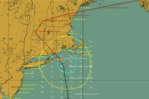 New Forecast Track for Henri