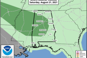 Occasional Showers/Storms Through The Weekend