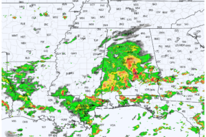 Drier Air For North/Central Alabama Tomorrow