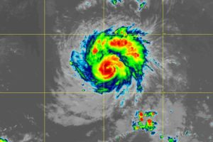 Hurricane Sam Now Developing an Eye as Rapid Intensification Has Restarted