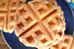 Alabama NewsCenter — Recipe: Cinnamon Sugar Biscuit Waffles