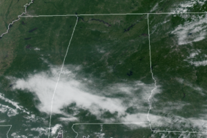 Midday Nowcast: Lower Humidity Levels Settling into Alabama