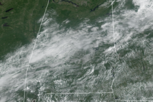 Midday Nowcast: Some Sun and Some Clouds