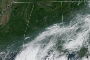 Late Morning Nowcast: Clearing Sky Across Alabama