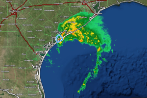 7 pm Advisory — Heavy Rains, Strong Winds, & Storm Surges Continue to Pound the Central & Upper Texas Coasts