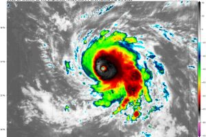 Hurricane Sam Near Cat 5 Status