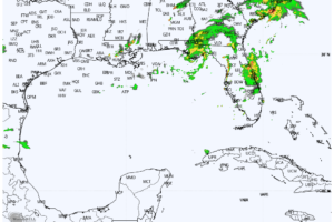 Tropical Storm Mindy Makes Landfall at St. Vincent Island, Florida