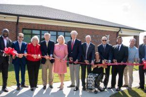 Alabama NewsCenter — University of Alabama Adapted Athletics Celebrates Ribbon-Cutting for Parker-Haun Tennis Facility